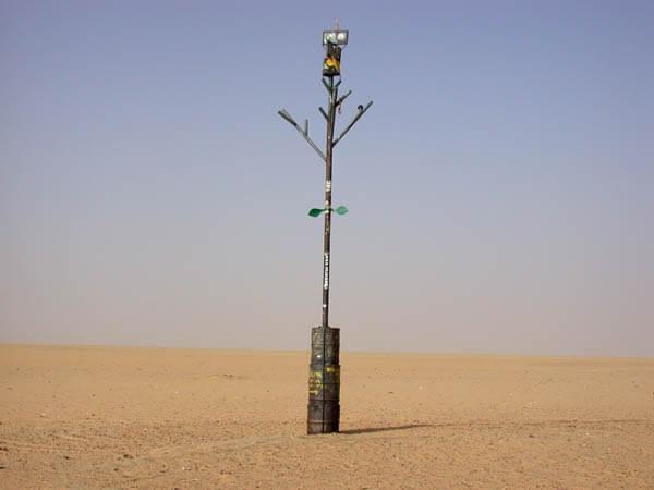 Тенере ағашы. Ағаштың орнындағы қазіргі ескерткіш ©amusingplanet.com