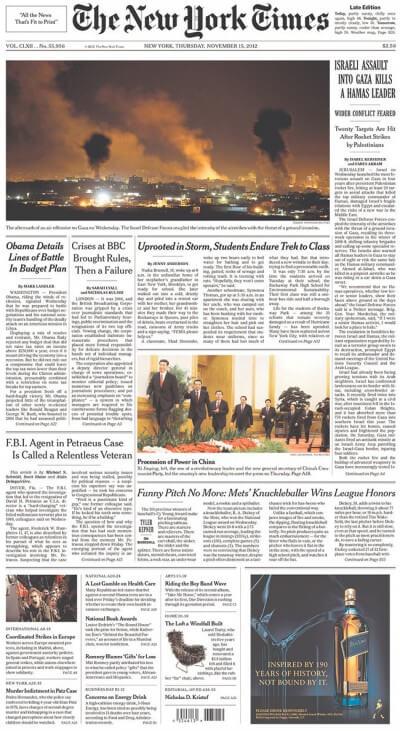 The New York Times ©Wikimedia Foundation
