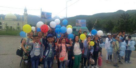Алматы облысының оқушылары ЭКСПО көрмесін қызықтайды